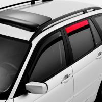 Deflektory (ofuky, plexi) zadní, Fiat Panda, 5-dveř., 09/2003-