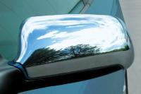 Kryty zrcátek - chrom, symetrické, Audi A3, A4, A6, A8