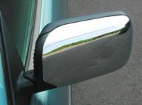 Kryty zrcátek - ABS chrom, symetrické, BMW 3 (E36), BMW 5 (E34) - AKCE !!!
