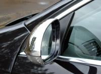 2553Kryt zpětného zrcátka - nerez, VW Golf, Jetta, Eos, Passat, Sharan