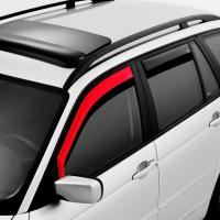 Deflektory (ofuky, plexi) přední, Fiat Panda, Typ 312, 5-dveř., 2012-