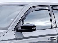 Deflektory (ofuky, plexi) přední, VW Polo, Typ AW, 5-dveř., 2017-