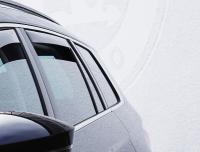 Deflektory (ofuky, plexi) zadní, Kia Stonic, Typ YB, SUV, 5-dveř., 2017-