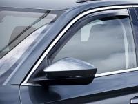 Deflektory (ofuky, plexi) přední, Audi Q3, 2019-