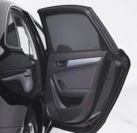 Sluneční clony sada - zadní dveře, zadní okna, páté dveře, Ford Fiesta, Typ JHH, Hatchback, 5-dveř., 2017-