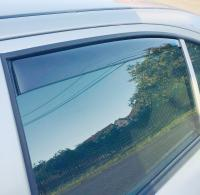 Deflektory (ofuky, plexi) zadní, VW Golf VIII, Hatchback, 5-dveř., 2019-