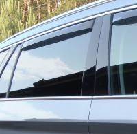 Deflektory (ofuky, plexi) zadní, BMW X2, Typ FX2, SUV, 5-dveř., 2018-