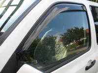 Deflektory (ofuky, plexi) přední, VW Transporter T4, 1990-2003