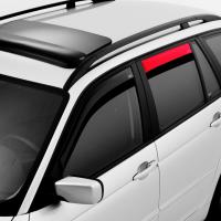 Deflektory (ofuky, plexi) zadní, Renault Scenic II./Megane Scenic, 5-dveř., 2003-2009